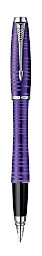 Parker S0949150 Urban Premium-Füllfederhalter (mattschwarz mit glänzenden Akzenten, mittlere Feder)